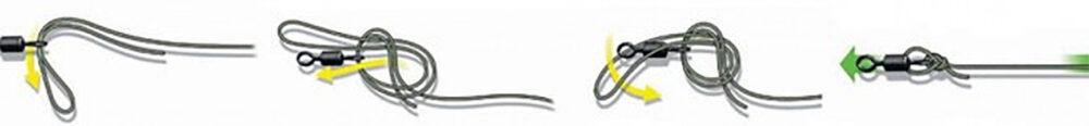 Надежные рыболовные узлы для плетенки, схемы