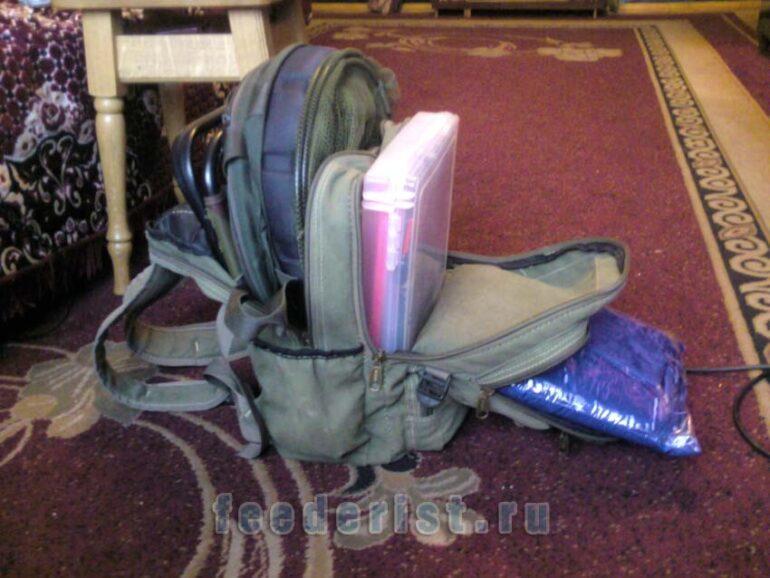 Вещи в рюкзаке укладываем компактней