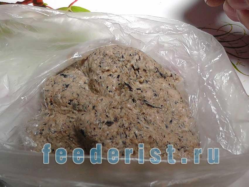 Тесто из семечек: рецепт прикормки для ловли на фидер